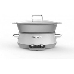 CrockPot Slowcooker Sauté DuraCeramic 6L wit CR027X